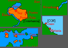 Location of Constancia