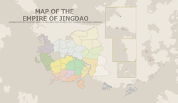 Location of Jingdao