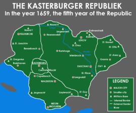 Location of Kasterburg