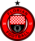 Logo of the Florian Republic national football team