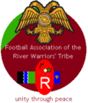 Logo of the River Warriors national football team